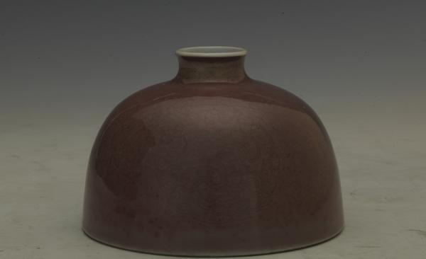 清代康熙款豇豆红釉太白尊 天津博物馆藏
