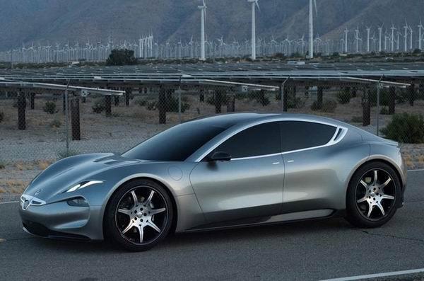 Fisker Emotion依旧是一款豪华四门电动跑车