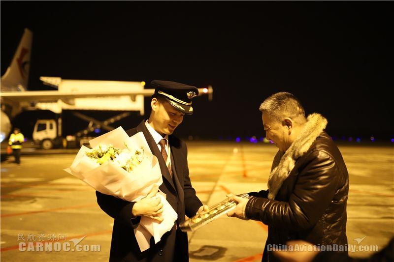 图:东航浙江分公司/供图。分公司总经理刘锡科