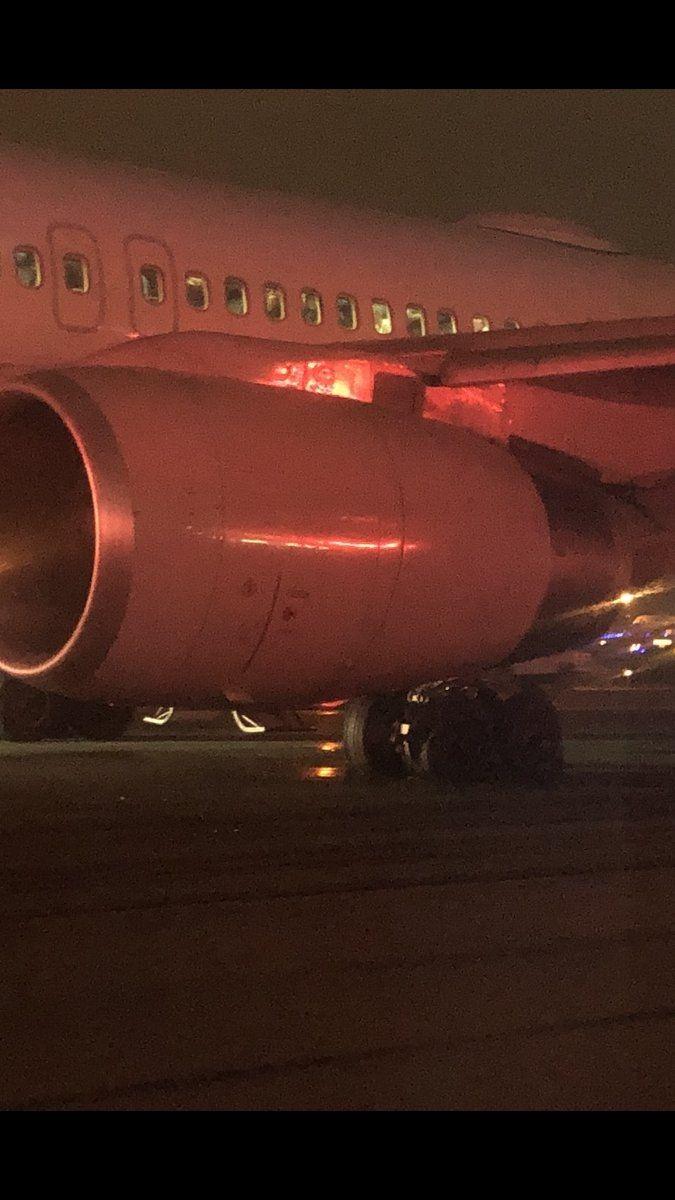 图:美联航客机主要下落芝添哥 图片来源:wgntv