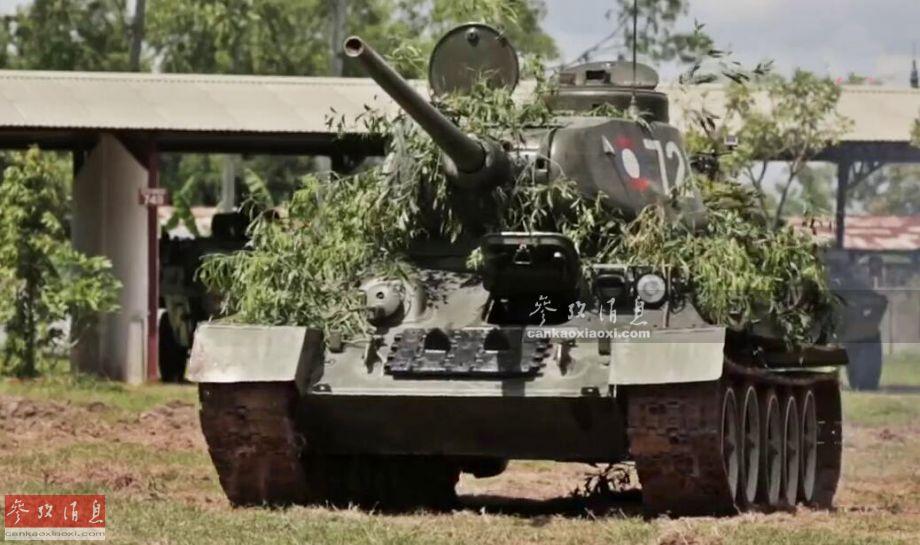 材料图片:俄陆军T-14主战坦克方队。(图片来历于网络)