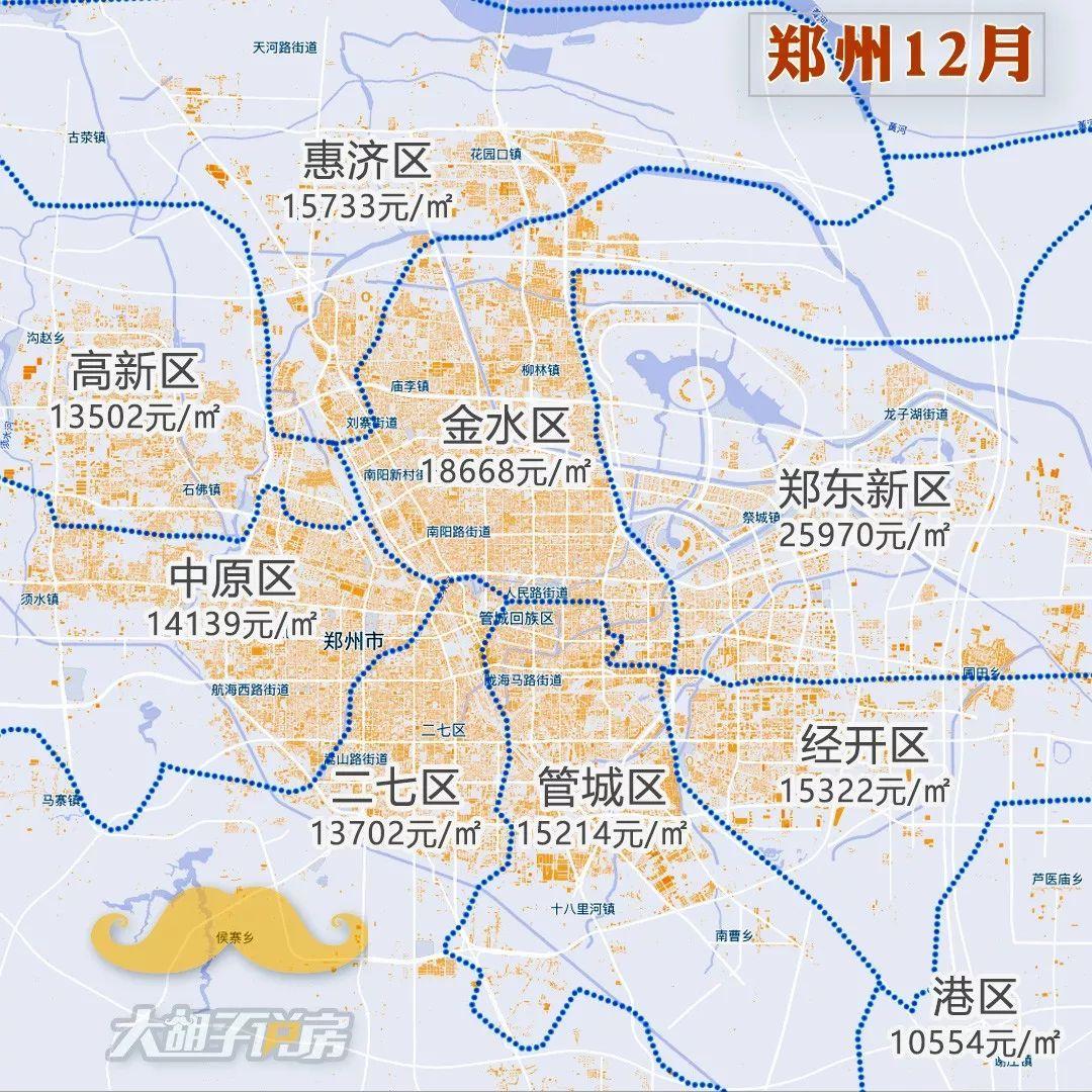 2018年12月热门城市【房价地图】重磅