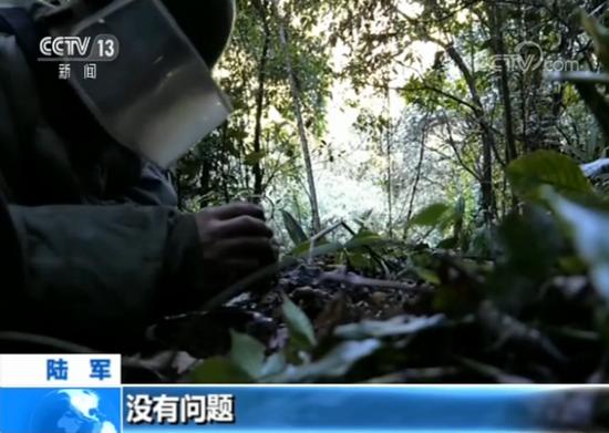 云南扫雷大队四分队战士 唐世杰:没有问题。