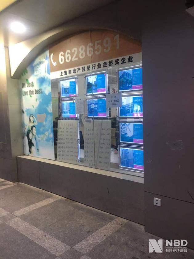 (上海某二房手中介门店 图片