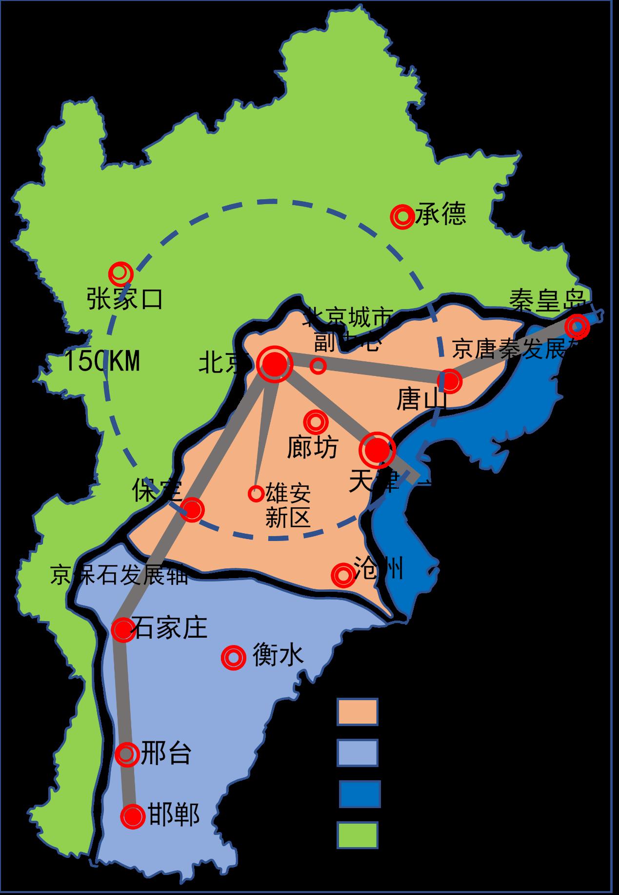 谁是京津冀的排头兵,来自客研报告中的城市战略解析秘籍