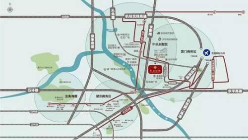 图为项目区位交通图