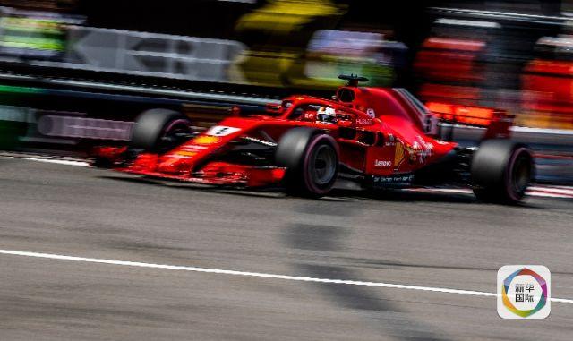 F1摩纳哥大奖赛排位赛在摩纳哥的蒙特卡洛赛道进行。新华社/欧新