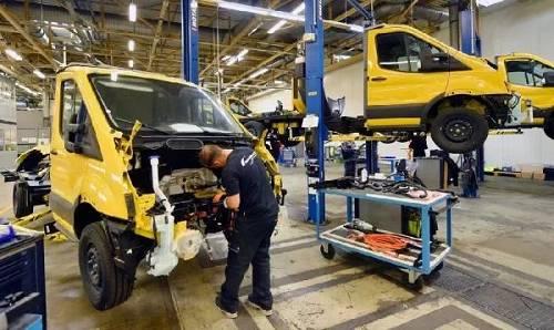 福特公司在德国科隆的一家工厂(美国《纽约时报》网站)