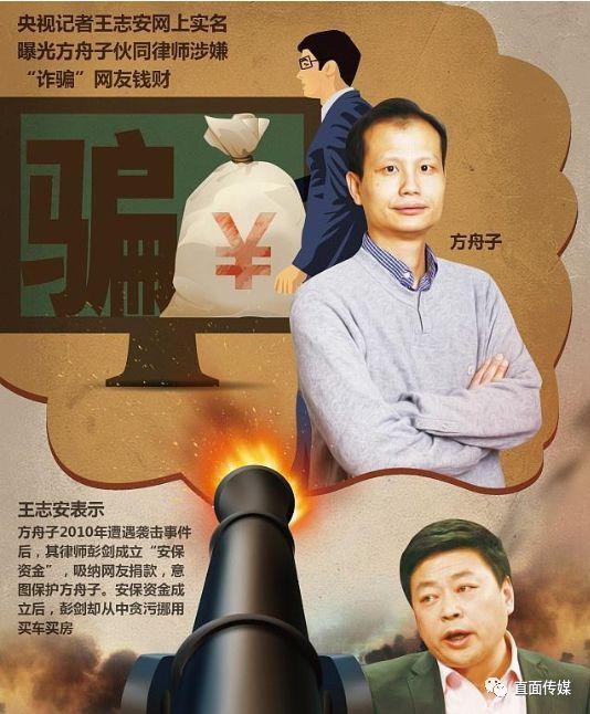 小崔沉默后,著名调查记者王志安实名举报方舟子:涉嫌洗钱和利益输送