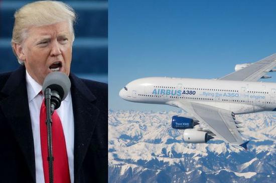 新浪美股讯 北京时间9日消息,据外媒报道,特朗普政府威胁对价值约110亿美元的欧盟商品加征关税,作为对欧盟补贴空客的报复。