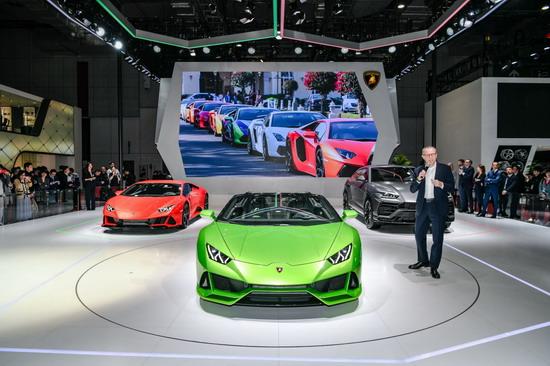 兰博基尼2018年全球销量5750台 Huracán EVO上海车展亚洲首秀