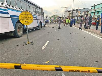 斯里兰卡爆炸近300人遇难 5中国人失联