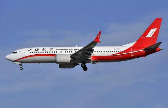停飛2個月后中國空域再次出現737 MAX