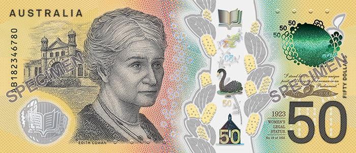 难堪了!价值23亿印错字的50面值澳币正在市场中流通......
