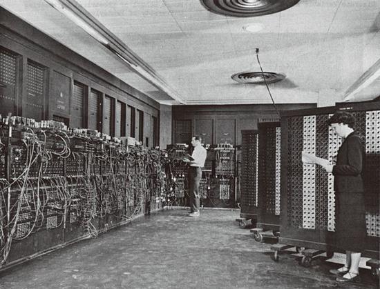 """世界第一台通用电子计算机""""埃尼阿克"""""""