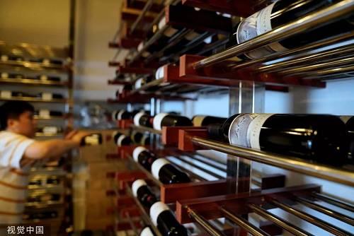 原料图片:从美国进口的红酒