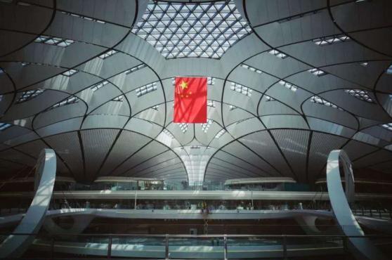 北京大兴国际机场 内部实景图