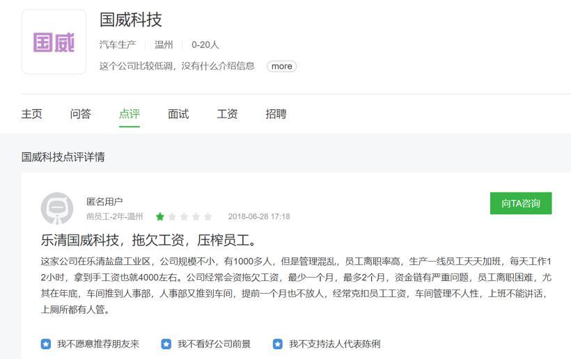 「杭州股票配资群」国威科技破产疑云 资金链问题早已存在