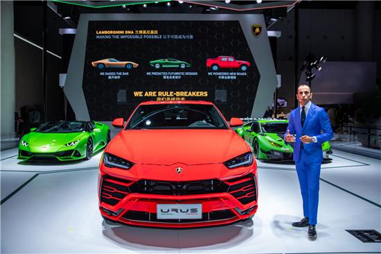 Francesco Scardaoni先生,兰博基尼汽车中国内地及香港、澳门执行总经理