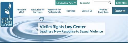 图源:Victim Rights Law Center联系受害者资源中心 Victim Connect Resource Center http://victimconnect.org网站有热线可以给受害者提供法律支持。