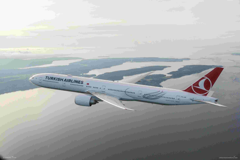 土耳其航空八月上座率达84.8%