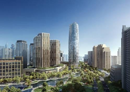 中国太保携手全球顶尖合作伙伴 太平洋新天地商业中心开工奠基