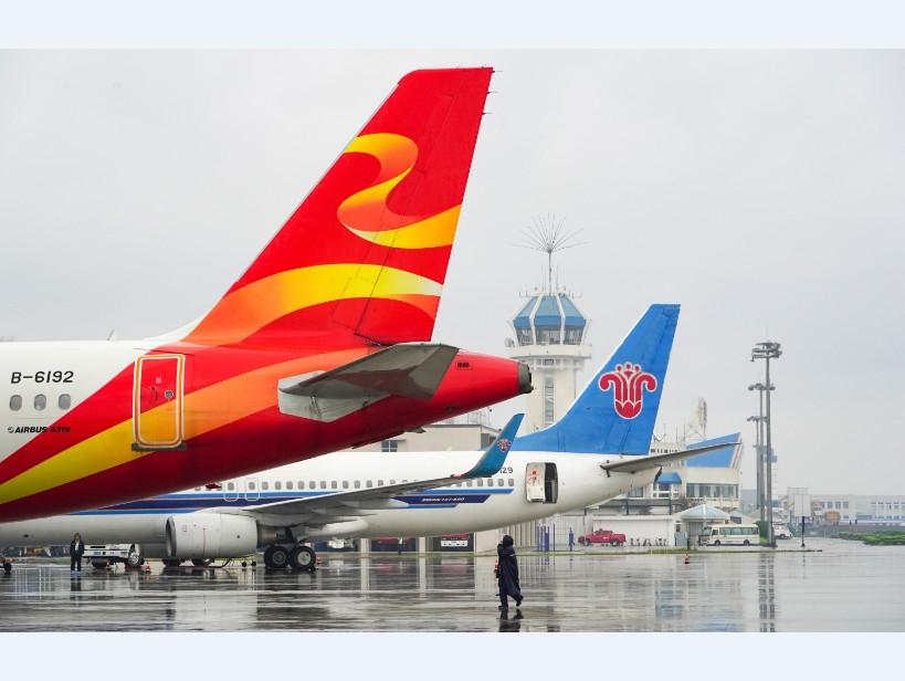 国庆长假张家界机场运输搭客7.5万人次