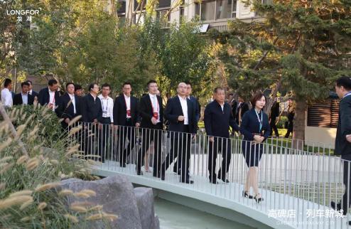 河北省领导视察第23届国际被动房大会示范项目!