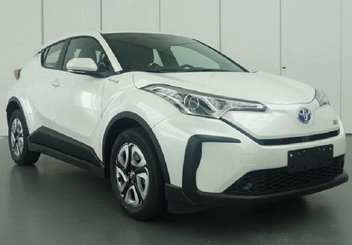 广汽丰田C-HR EV纯电动车型申报图曝光
