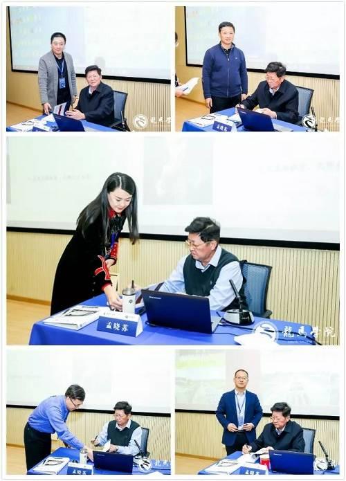 孟晓苏教授为学员签名