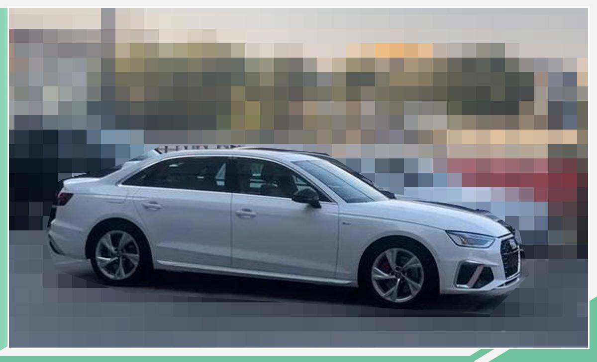 奥迪新款A4L实车曝光 外观变化明显/将明年上市