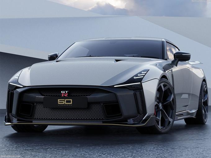 日产GT-R50跑车曝光!搭3.8T引擎/明年上市开售