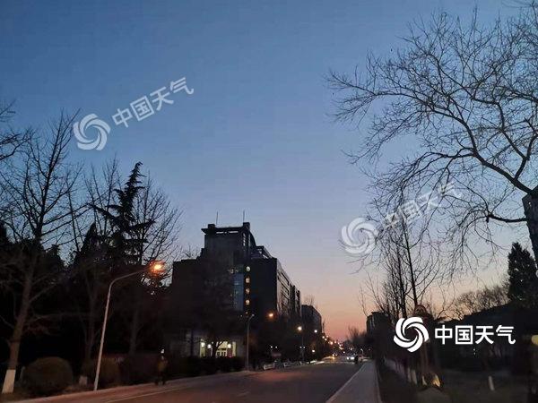本周末冷空气到访北京 白天最高气温4至5℃