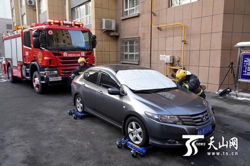 乌鲁木齐市开展消防安全通道专项
