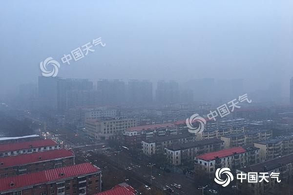 周末河北大雾降温齐上阵 下周雨雪频繁气温低