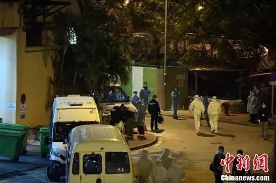 相隔10层楼,两人先后确诊!香港深夜紧急撤离同一单位所有居民