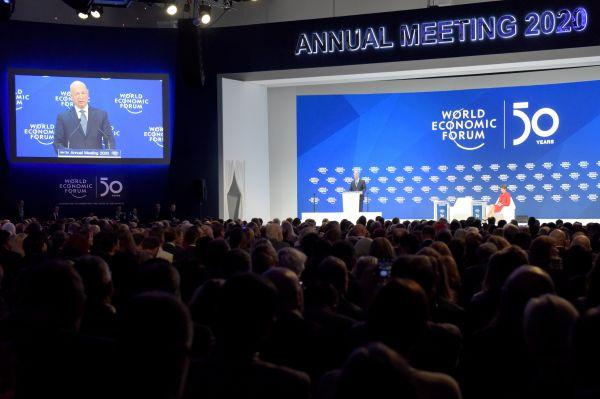 世界经济论坛2020年年会(新华社)