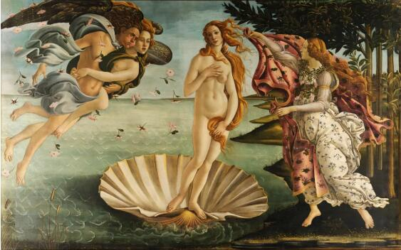 维纳斯的诞生 波挑切利 1485 年