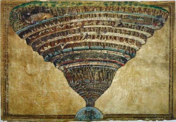 《神弯》之地狱图 波挑切利