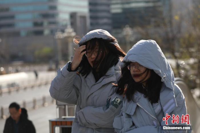 受较强冷空气影响 中东部大部地区气温将下降6至10℃