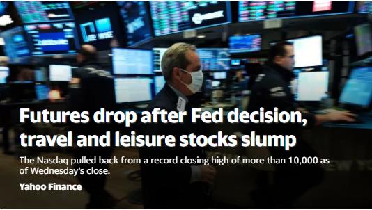 美股盘前:风险情绪骤然降温 道指期货大跌3%