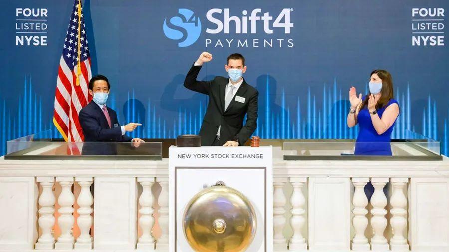 支付公司重获华尔街青睐:美国支付公司Shift4上市首周股价上涨51%
