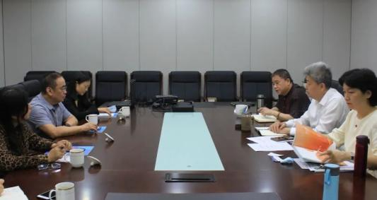 共商健康公益 北大资源与中国初级卫生保健基金会举行会谈