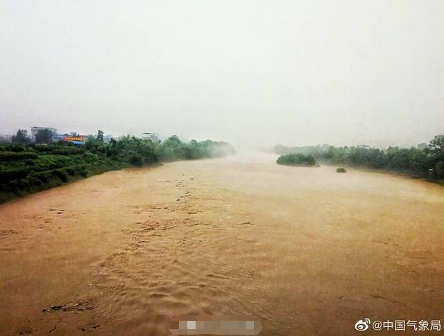 中央气象台已连发27天暴雨预警