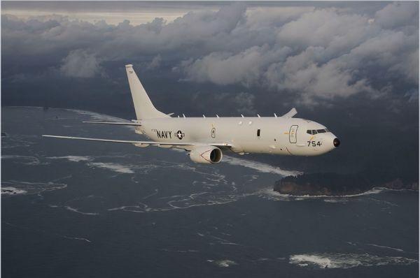 """英军""""海神""""巡逻机首次任务盯上俄舰 全部9架将于明年底列装"""
