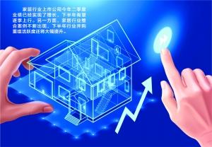 """家居类上市公司正快速""""回血"""" 行业并购重组有望提速"""