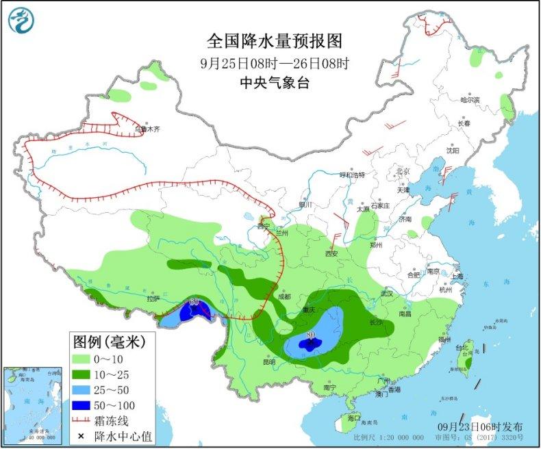 江南华南等地将有降雨过程 黔桂湘等地局地有暴雨