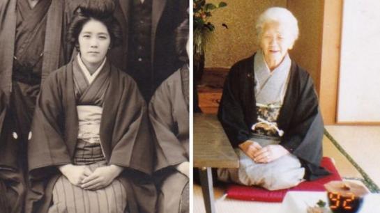 被认为全球最长寿人瑞的日本老人田中加子9月19日年龄达到117岁261天