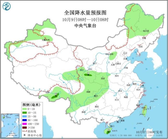 东部和南部海区有大风 冷空气将影响新疆北部地区
