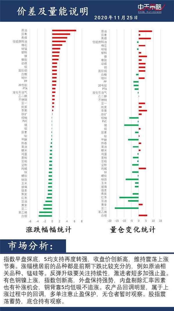 中天战略:11月25日市场分析